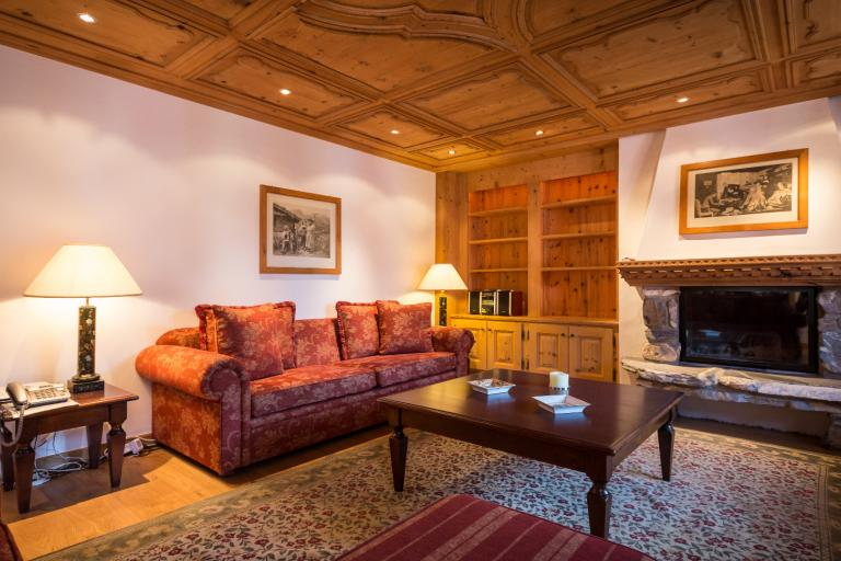 Homelike elegance in the heart of Gstaad