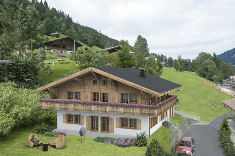 New construction project near Gstaad