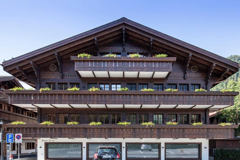 Luxurious apartment in the very heart of Saanen